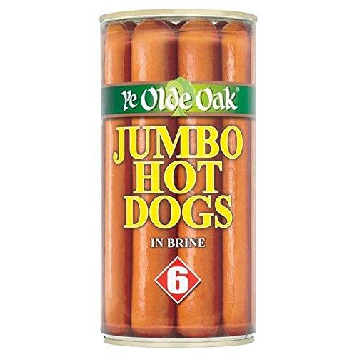 Ye Olde Eiche 6 Jumbo Hot Dogs In Salzlake 560G