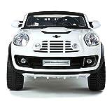 Kinder-Elektroauto MINI Beachcomber, Original Lizenziert, Zweisitzer, Weiß