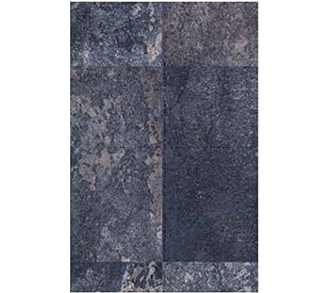Klebefolie - Möbelfolie Stahl oxidiert Look - 45 cm x 200 cm Designfolie Selbstklebende Folie mit Dekor - Selbstklebefolie