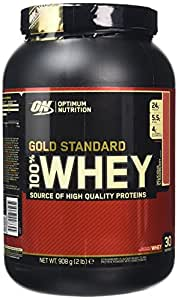 Optimum Nutrition Gold Standard Whey Protein Powder, Strawberry, 908 g