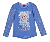 Frozen Langarmshirt Ökotex Standard 100 Die Eiskönigin 2017 Kollektion 98 104 110 116 122 128 Mädchen Lang ELSA Fliederblau (Fliederblau, 110-116)