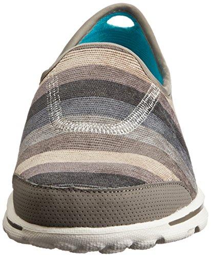 Skechers  Trilogy, Chaussures à lacets et coupe classique femme Marron - Taupe