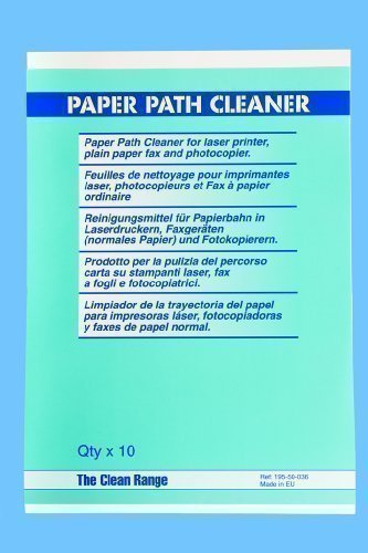 Printer Path Cleaning Paper for Laser Printers, Faxes and Photocopiers Test