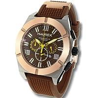 HAUREX Italy Challenger Brown Dial Watch #3D305UCM-