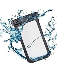 Outad Coque étanche, universel téléphone portable Dry Bag Pouch Effacer écran tactile pour iPhone 7/6/6S Plus/5/5S/5C Galaxy S7/S7Edge/S6/S5/S4/Note 4/3LG G5/G3