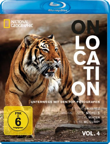 National Geographic - On Location: Unterwegs mit den Top-Fotografen, Vol. 4 [Blu-ray]