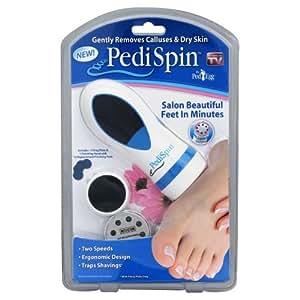PediSpin peau séche des pieds