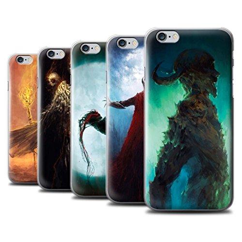 Offiziell Chris Cold Hülle / Case für Apple iPhone 6S+/Plus / Gehörnter Dämon Muster / Dämonisches Tier Kollektion Pack 6pcs