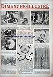 DIMANCHE ILLUSTRE [No 122] du 28/06/1925 - MME VIOLETTE-MORIS CHAMPIONNE MOTOCYCLETTE - LE PHOTOGRAPHE ET LE...
