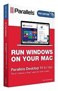 Parallels Desktop 11 for Mac PRO Edition