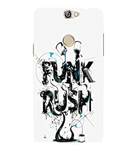 FUSON Funk Rush Oilpaint 3D Hard Polycarbonate Designer Back Case Cover for Coolpad Max