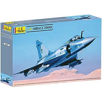 Heller 80426 - Modellino da costruire, Aereo Mirage 2000 C, scala 1:48 [Importato da Francia]