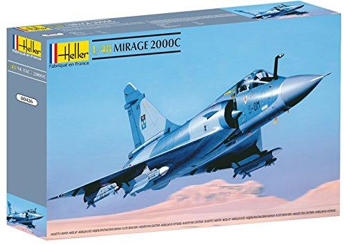Glow2B Heller 80426 Modellbausatz Dassault Mirage 2000 C