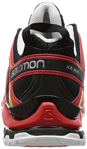 Salomon XA Pro 3D - Chaussures de Running Compétition homme Multicolore (Black/Radiant Red/Corona Yellow)