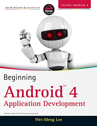 Beginning Android 4 Application Development