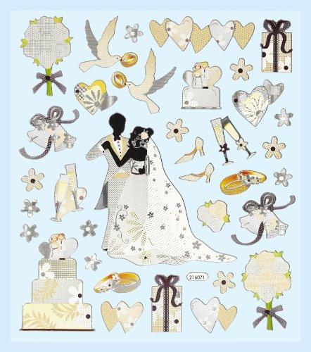 Creapop Hobbyfun Sticker Hochzeit