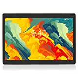 Tablette Tactile 10 Pouces BEISTA-(Android 9.0,4G Tablettes,64 Go ROM,WiFi,Quad Core,Full HD,Conception humanisée) Noir