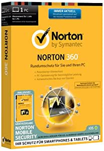 Norton 360 1User + Norton Mobile Security 1User