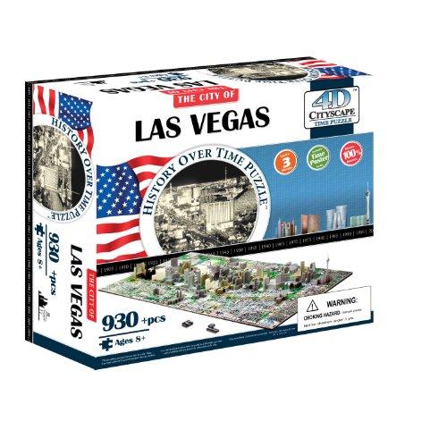 4D Cityscape 40020 Las Vegas Puzzle