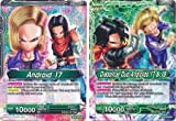 DBSTCG/ Dragon Ball Super Trading Card Game: Android 17 | Diabolical Duo Androids 17 & 18 - BT2-070 - Uncommon Mint Dragon Ball Card Game for Collectors/ The Future Enemy| Dragonball Super: Union Force Single Card (Both Side Printed)