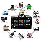 "2 DIN 7""Bluetooth Universal Car Radio Multimedia Player Bluetooth GPS Navigazione Car Stereo Mirror Link FM RDS WiFi Dab + unità Principale"