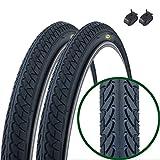 Paar Fincci Slick Road Mountain Hybrid Bike Fahrrad Reifen 26