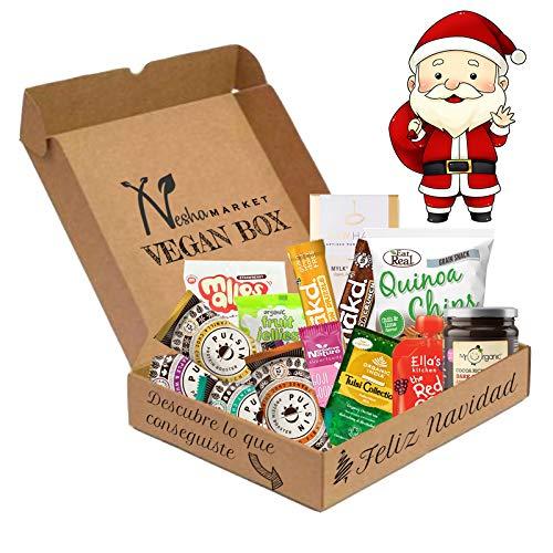 Santa Claus Vegan Box- 14 artículos - Navidad/Año Nuevo caja vegana