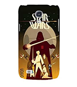 Omnam Star War Lovers Banner Printed Back Cover Case For Samsung Galaxy S4