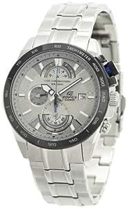 Casio Edifice Chronograph Silver Dial Men's Watch - EFR-520D-7AVDF (EX066)