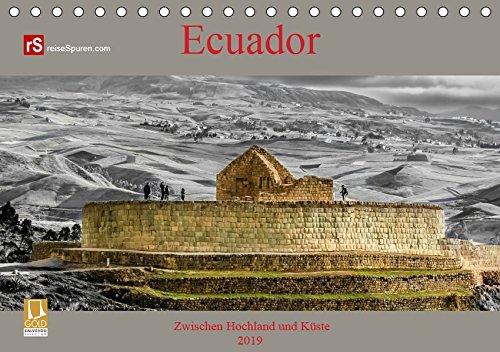Ecuador 2019 Zwischen Hochland und Küste (Tischkalender 2019 DIN A5 quer): Ecuador - kleines Land mit vielen Facetten (Monatskalender, 14 Seiten ) (CALVENDO Orte)