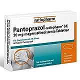 PANTOPRAZOL ratiopharm SK 20 mg magensaftres.Tabl. 14 St Tabletten magensaftresistent