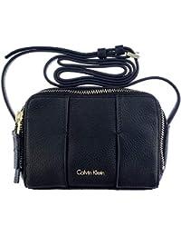 Calvin Klein - Bolso cruzados de Sintético para mujer Negro Negro Hauteur: 12 cm,