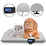 InLoveArts Báscula Veterinaria para Mascotas y Animales pequeños y medianos, 440Lbs Báscula...