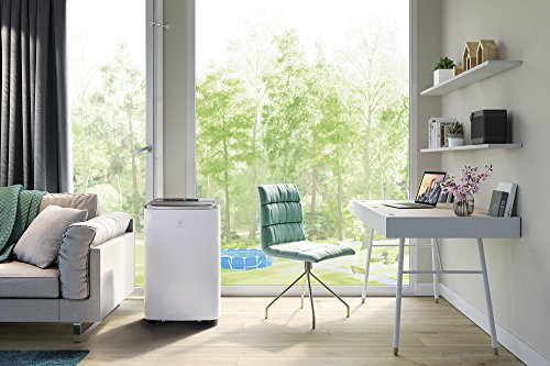 Electrolux EXP35U538HW ChillFlex Pro - Condizionatore d'aria portatile, (13K BTU, Classe A+/A++, Riscaldamento Pompa di Calore, 45 db (A), Gas R290, Self Evaporative System), Bianco