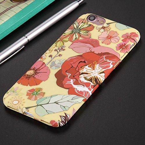 GHC Cases & Covers, Für iPhone 7 National Style Blumenmuster PC Schutzhülle ( SKU : Ip7g0594g ) Ip7g0594g