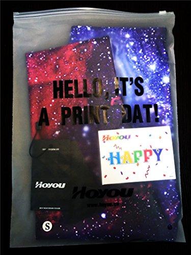 Hoyou Damen Leggings mehrfarbig mehrfarbig Galaxy