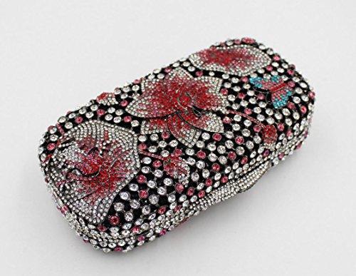 Damen Abendkleider Paket Diamant Abendessen Paket High-End-volle Diamant-Handtasche Bankett-Paket color 1