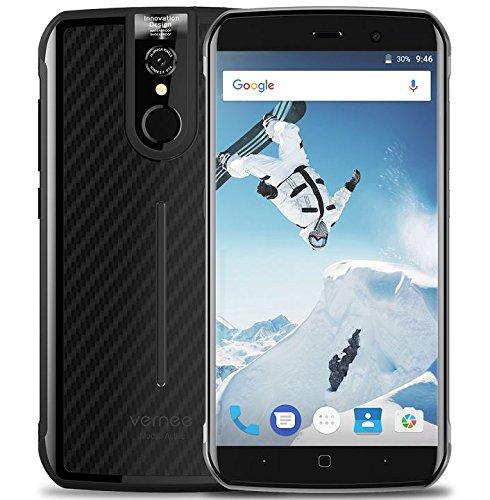 Vernee Active - 5.5 'FHD IP68 robusto Smartphone, Octa Core 2.39GHz 6GB RAM 128GB ROM, cámara de 8MP + 16MP, NFC / GPS...