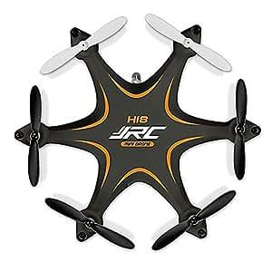Haibei 3,35 * 2,87 * 0,98 pollici H18 Hexrcopter 2.4G 4CH 6 Axis Gyro Drone Rc Quadcopter 3d modalità Headless Rollover (Arancione)