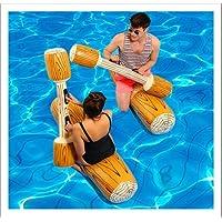 ZHANGJIANJUN Gracioso Piscina Inflable Ring paragolpes inflables Juguetes Deportes Acuáticos Piscina Floatie Juguetes de Piscina Piscina para Adultos Parte Gladiator Piscina