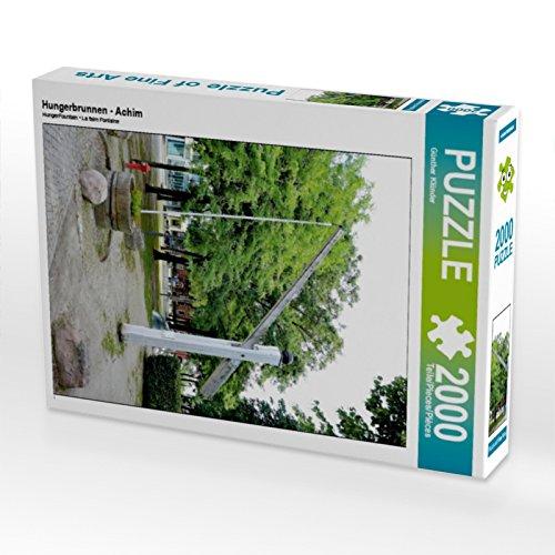 CALVENDO 4059478939554 Hungerbrunnen - Achim 2000 Teile Lege-Größe 67 x 90 cm Foto-Puzzle Bild von Klünder Günther, Weiß