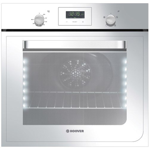 Hoover HO423VW Electric Built-in Single Fan Oven With LED Vision Lighting – White