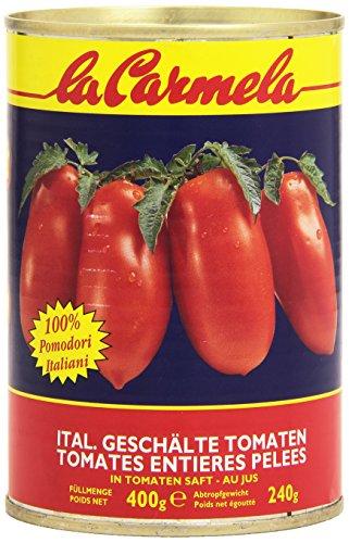 La Carmela - Pelati, 100% Pomodori Italiani - 4 latte da 400 g [1600 g]