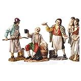 Holyart Personaggi 4 sogg. Moranduzzo 12 cm