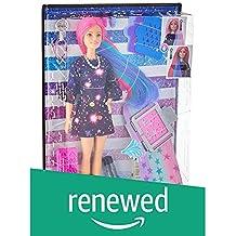(Renewed) Barbie  Hair Feature Doll - Color Surprise, Multi Color