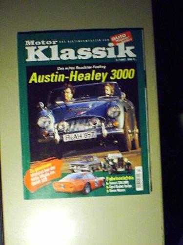 Motor-Klassik 3/1997,Austin-Healey 3000,Ferrari 330 LMB,Opel Kadett Rallye,Rover Nizam - 3000 Motor