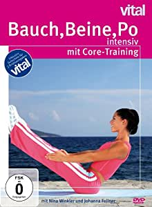 bauch beine po intensiv mit core training nina winkler johanna fellner emel. Black Bedroom Furniture Sets. Home Design Ideas