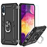 LeYi Galaxy A50 Case with Ring Holder Kickstand,Full Body