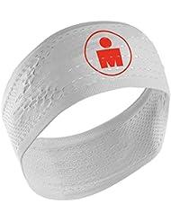 Compressport - HeadBand On/Off Ironman, color white