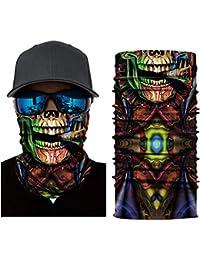 Anonymous Vendetta Biker Motorrad Maske Tube Multifunktionstuch Bandana Schlauch